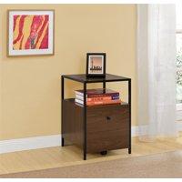 Ameriwood Home File Cabinet, Brown Oak