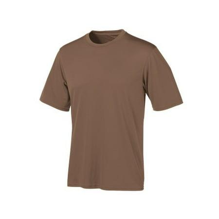 Champion Tactical TAC22 M LN Mens Brown Double Dry T-Shirt Medium