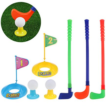toymytoy  TOYMYTOY Children Kids Plastic Golfer Toy Golf Set Game Toy ...