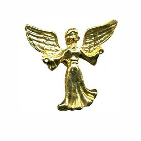 Gold Guardian Angel Lapel Pin (Pkg of