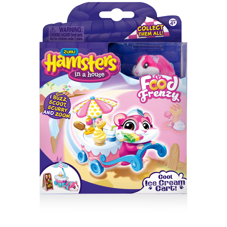 Hamsters in a House - Cool Ice Cream Cart (w/Sundae) - Walmart.com