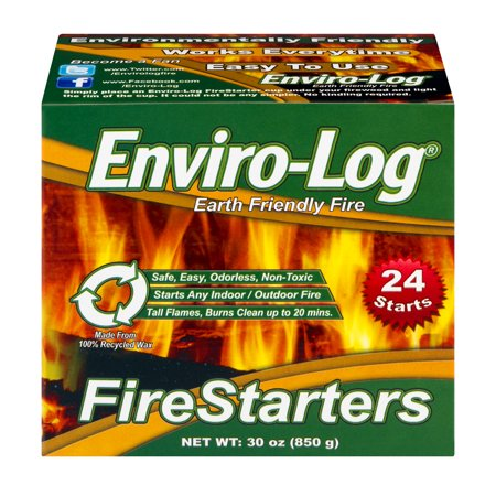 Fire Starter Set - Enviro-Log Fire Starters, 24 Count Case