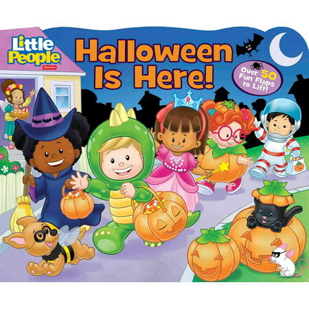 Halloween Is Here (Board Book)](Halloween Kids Books)