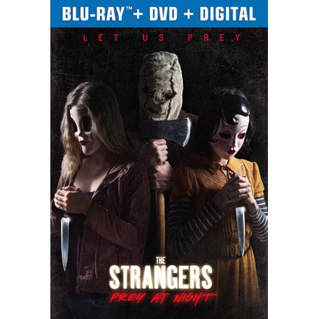 The Strangers: Prey At Night (Blu-ray + DVD + Digital Copy)