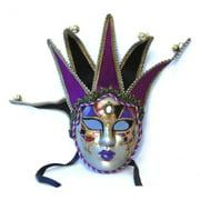 Tramezzino Jester Costume Mask: Purple