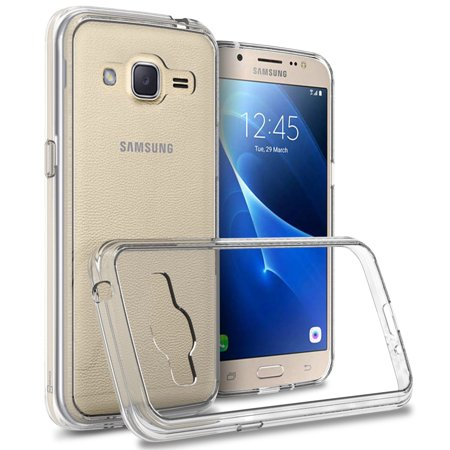 CoverON Samsung Galaxy J2 (2016) Case, ClearGuard Series Clear Hard Phone Cover