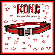 Kong Red Rope Collar For Dogs  Medium