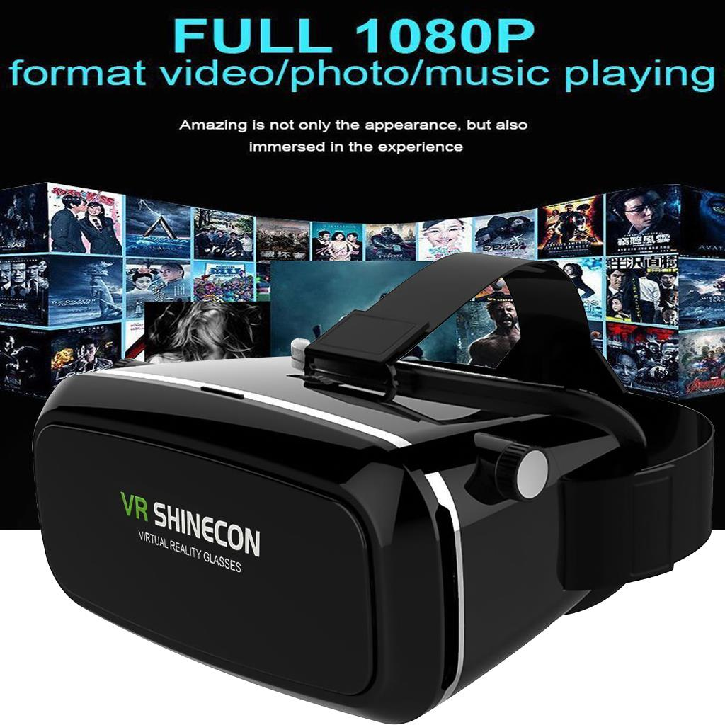 Shinecon VR Virtual Reality Headset 3D Movies Games Video Glasses