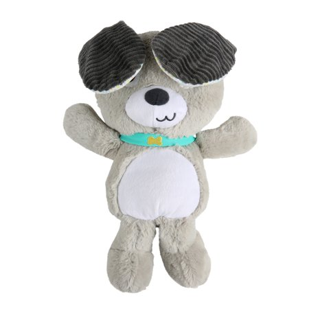 Bright Starts Belly Laughs Puppy Plush Toy, Ages Newborn