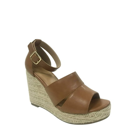 Women's Time And Tru Covered - 70s Wedge