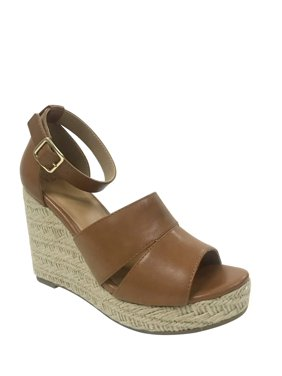 356ca3aab42 Free shipping. Product Image Women s Time And Tru Covered Wedge