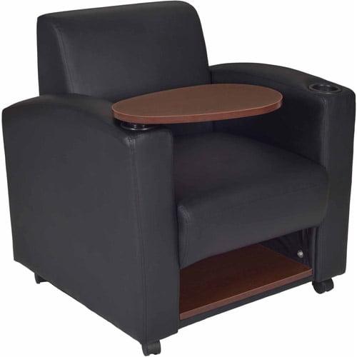 Regency Products Nova Mobile Tablet Arm Chair, Black/Java