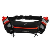 "Fitletic iFitness 16 ounce Hydration Belt (Custom Orange, L/XL (35""-42""))"