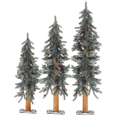Sterling Alpine Unlit Artificial Tree Set ()
