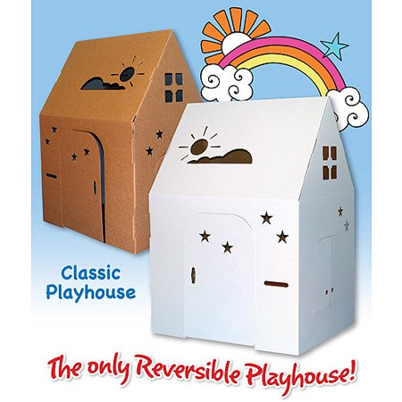 Easy Playhouse Classic Cardboard Playhouse