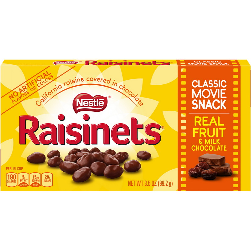(Price/case)Nestle 00028000236403 Raisinets Chocolate Candy Concsn