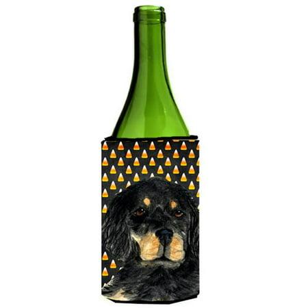Gordon Setter Candy Corn Halloween Portrait Wine Bottle  Hugger - 24 oz. - Nicholas Gordon Halloween