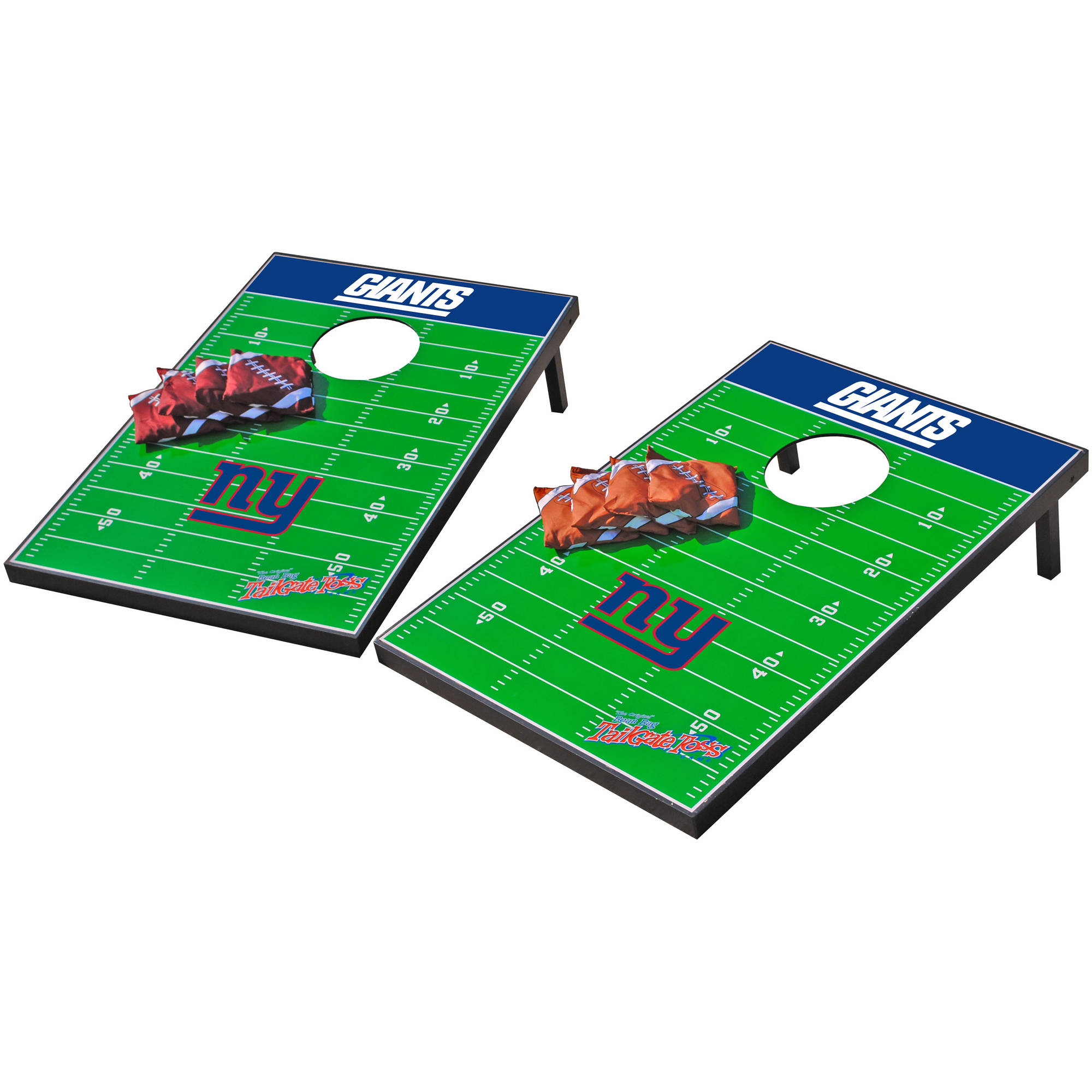Wild Sports NFL New York Giants 2x3 Field Tailgate Toss