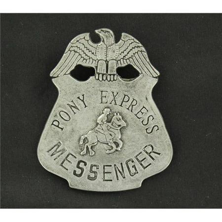 M&F Western 28214 Pony Express Toy Badge (Jam Pony Express)