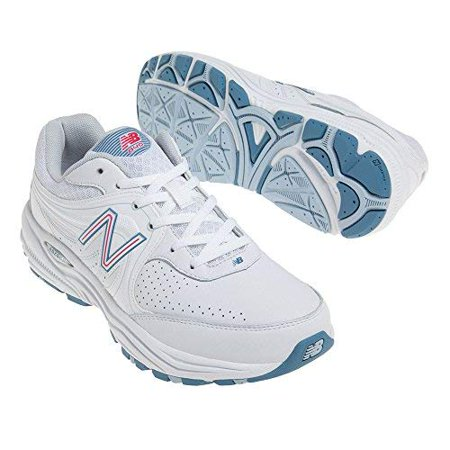 1e412a5a54c7f New Balance - New Balance Women's WW840 Health Walking Shoe, White/Pink, 8  D US - Walmart.com