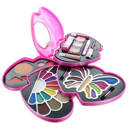 BR Double-Heart Makeup 48 Color Kit # 1868 - Party City Halloween Makeup Kits