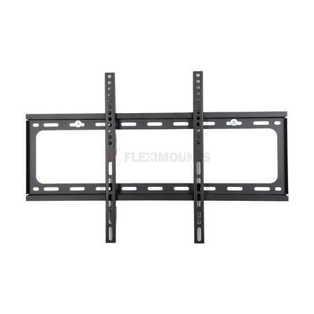 fleximounts f013 fixed tv wall mount bracket fits most 32 65 4k hd lcd led plasma flat panel. Black Bedroom Furniture Sets. Home Design Ideas