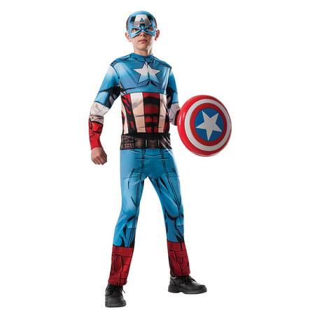 Boys Avengers Captain America Halloween Costume