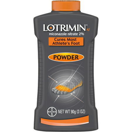 Lotrimin AF Athlete's Foot Antifungal Powder, 3 Ounce