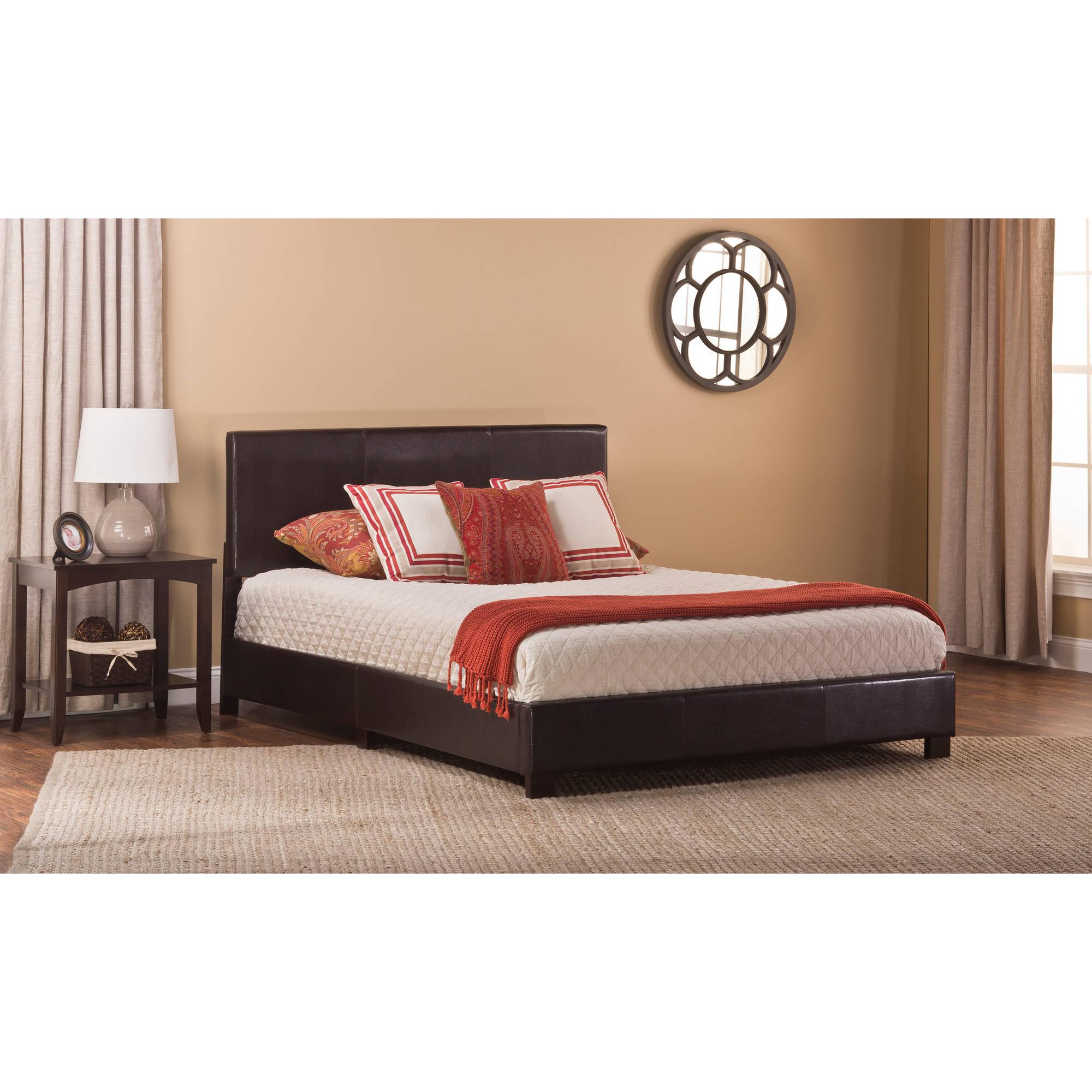 Hillsdale Furniture Hayden Faux Leather Platform Bed 0ef5bfe35