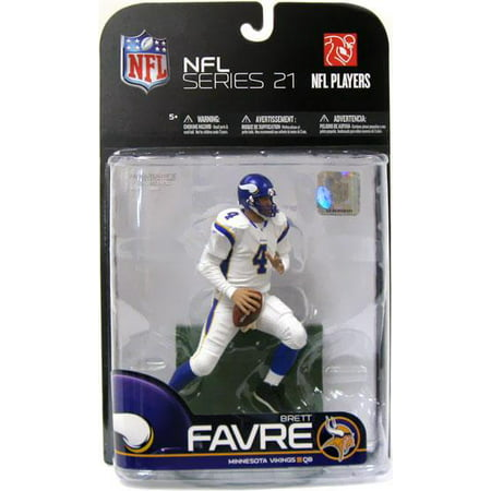 McFarlane NFL Sports Picks Exclusive Brett Favre Action Figure [White Jersey]
