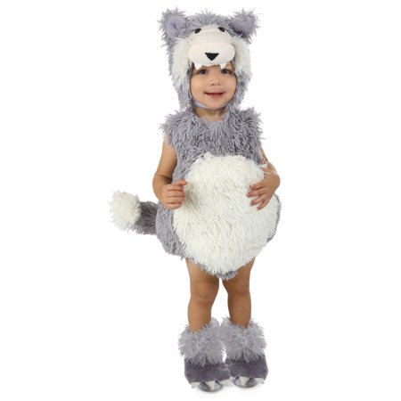 Halloween Toddler Vintage Beau the Big Bad Wolf Costume
