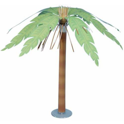 "Luau 15"" Paper Palm Tree"