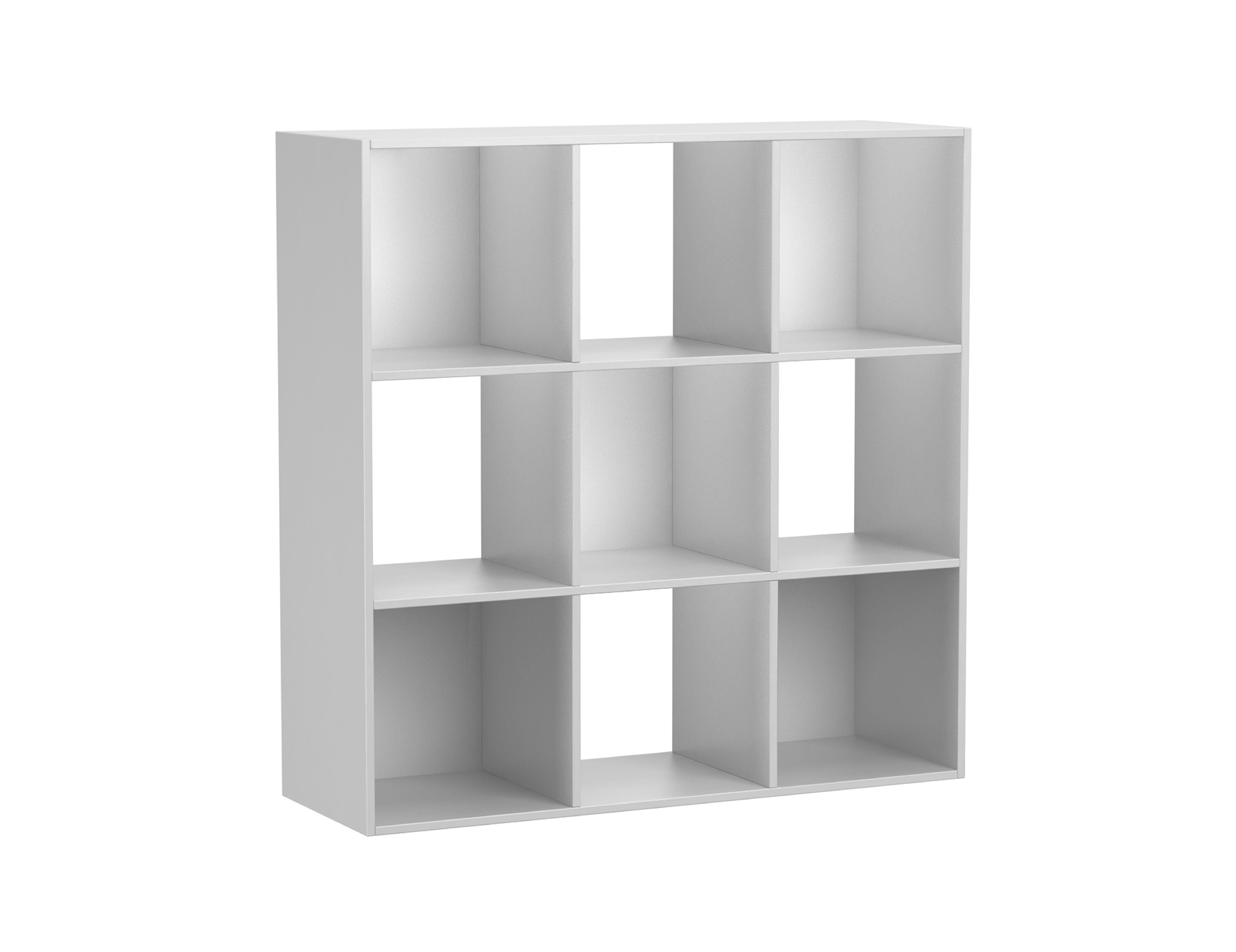 Mainstays 9 Cube Storage Organizer, Multiple Colors