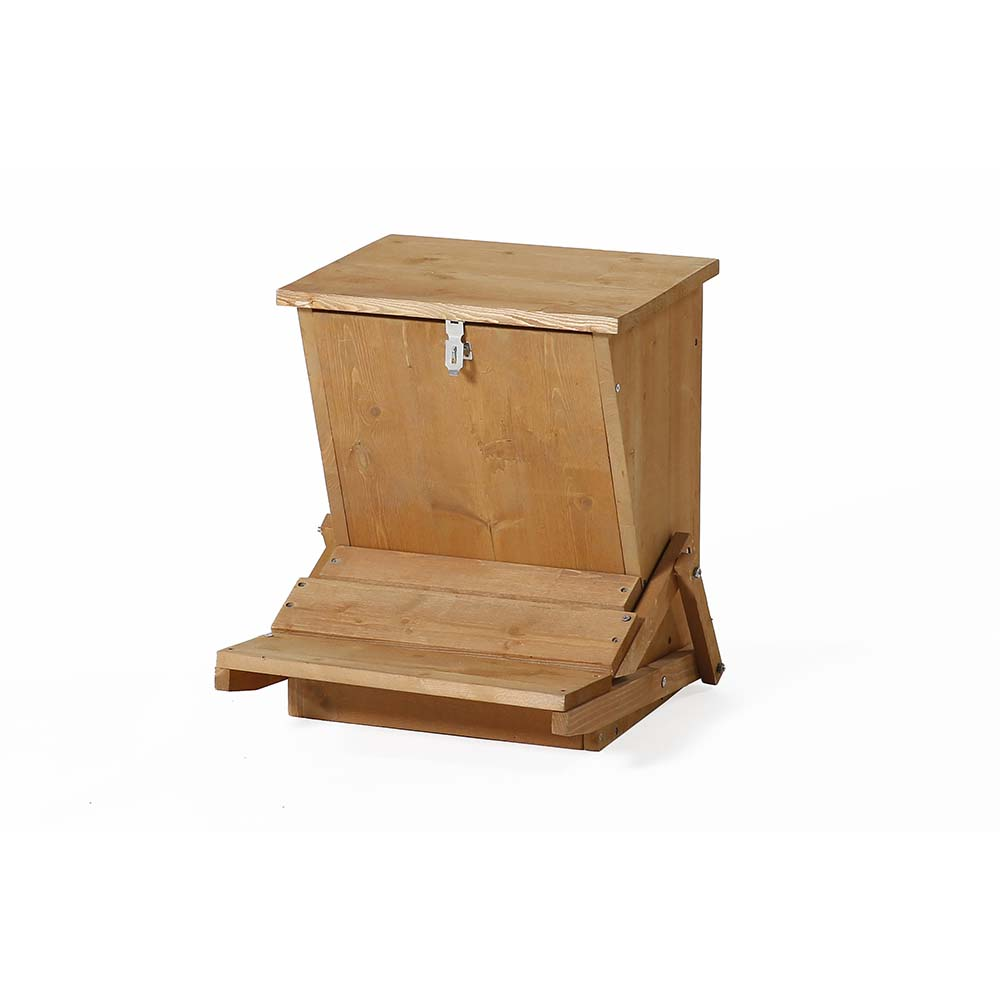 Patio Wise Fir Wood Automatic Chicken Feeder - PWACF-008