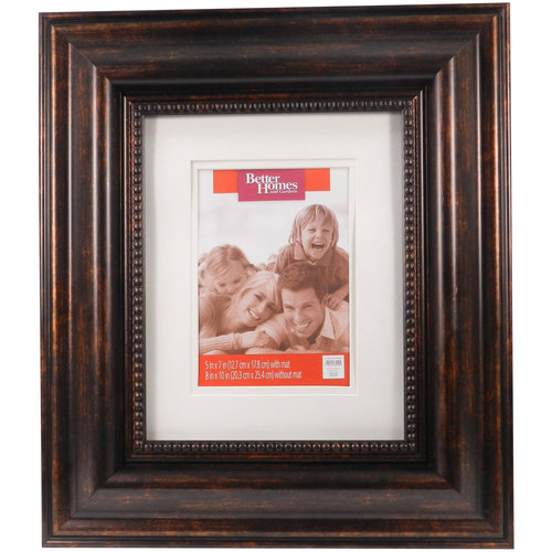 "Better Homes and Gardens Bronze Trudo 8"" x 10"" Photo Frame"