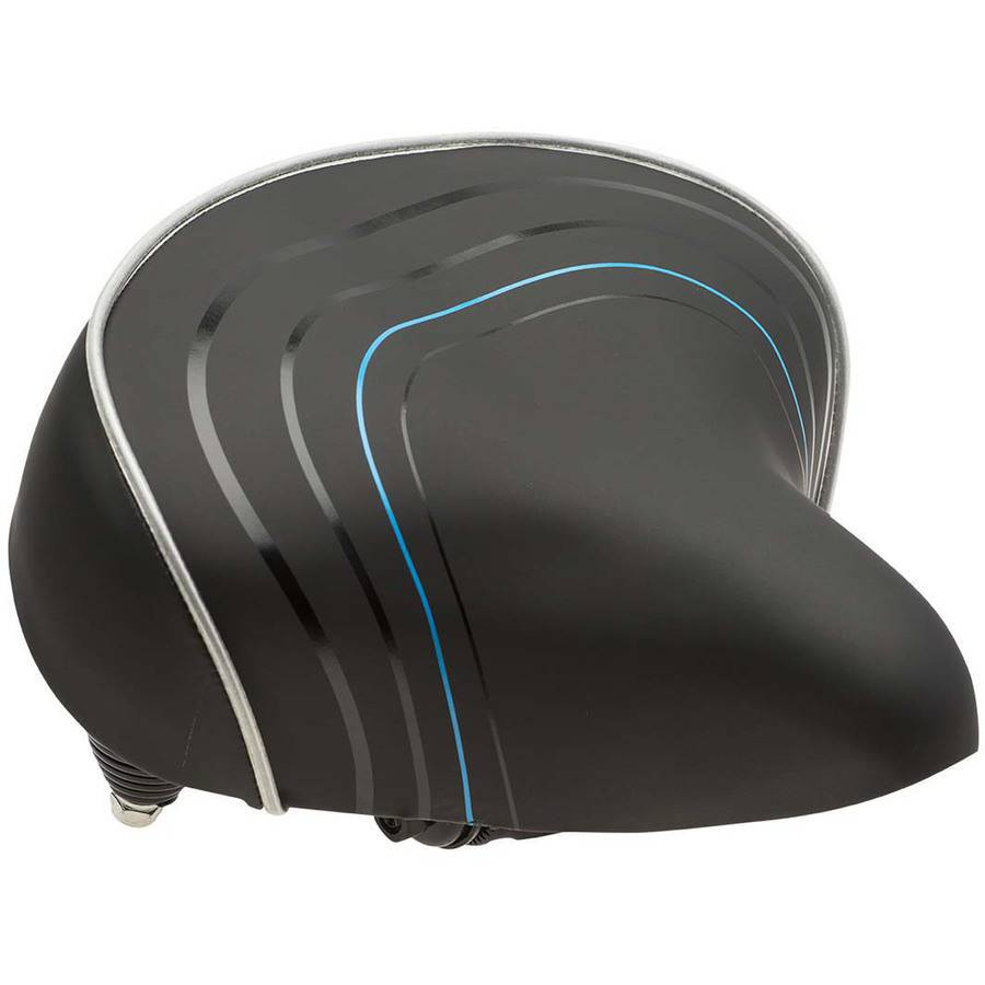 Bell Sports Comfort Cruiser Foam Bike Seat / Saddle, Black