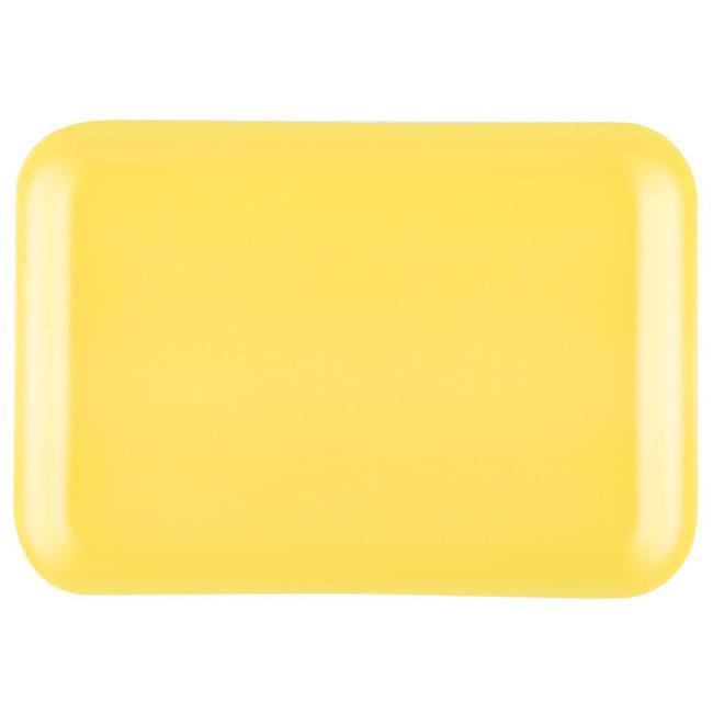 Dyne-A-Pak 201002SY00 CPC Foam Tray, Yellow - Case of 500 - image 1 de 1