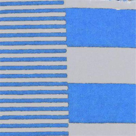 Design Imports HBGD16-LBL Light Blue & White Game Day Striped Headband, One Size - Set of 2 - image 1 de 1