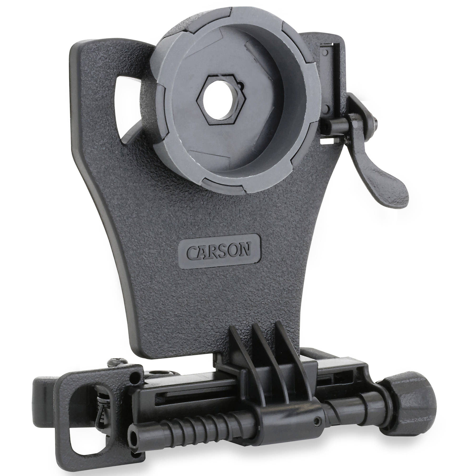 Carson HookUpz Universal Smartphone Digiscoping Adapter for Most Full Sized Binoculars