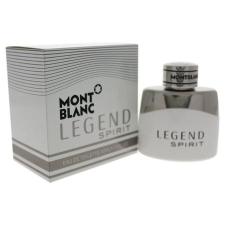 Mont Blanc Legend Spirit by Mont Blanc for Men - 1 oz EDT Spray](mont blanc legend perfume price)