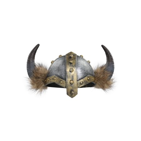 Women's Horned Viking Helmet (Toy Viking Helmet)