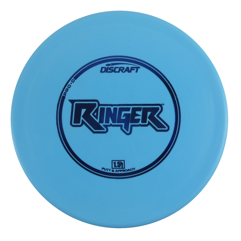 Discraft Pro D Ringer 160-166g Putter Golf Disc [Colors may vary] - 160-166g