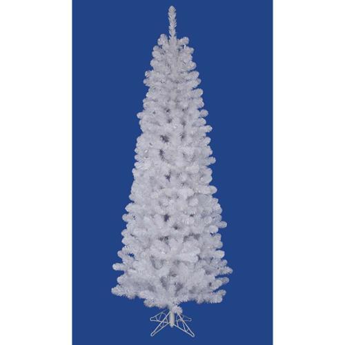4.5' White Salem Pine Pencil Profile Artificial Christmas Tree - Unlit
