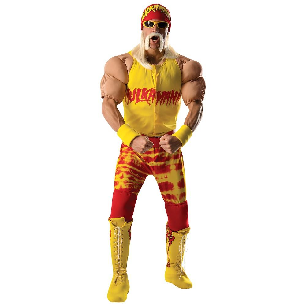 Hulk Hogan Adult Costume - X-Large