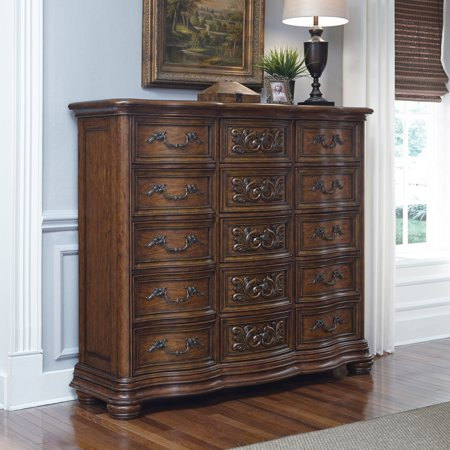 triple usa dresser made allen in s drawer ethan manor maple classic p ebay
