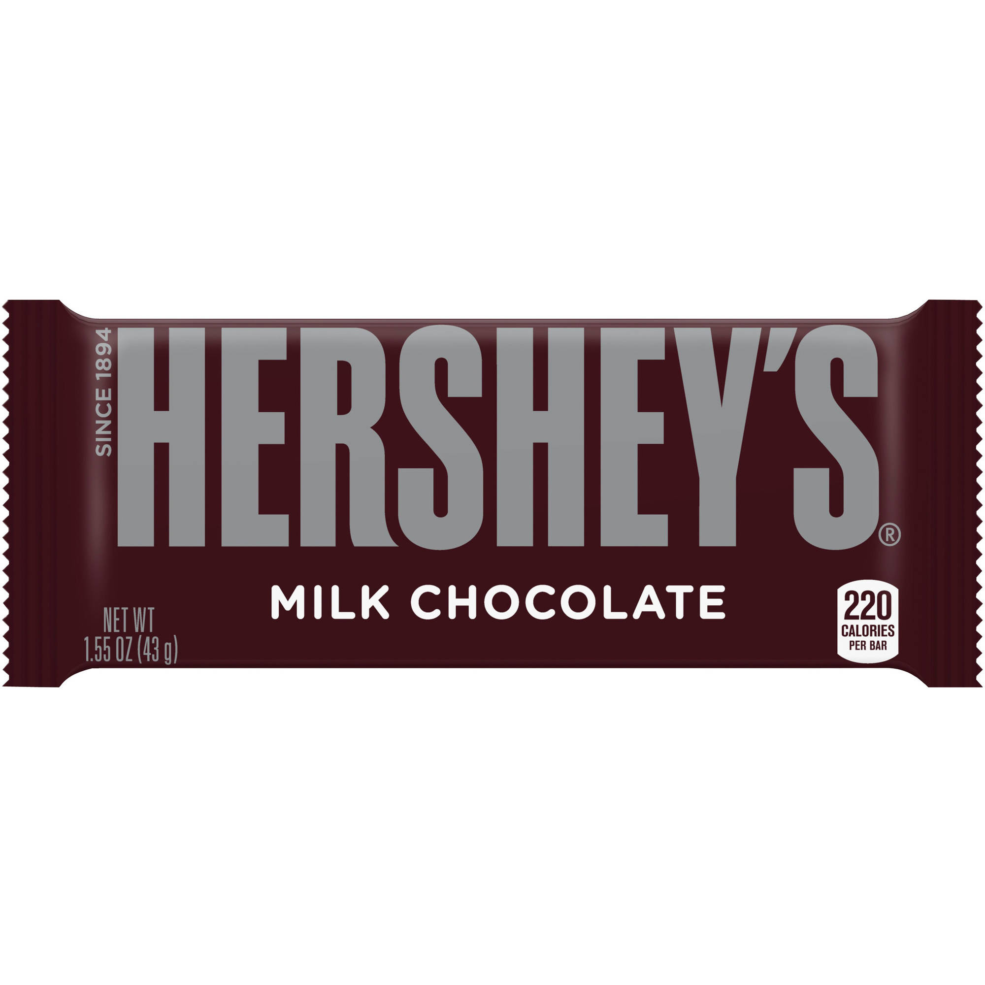 Hershey's Milk Chocolate Candy Bar, 1.55 oz