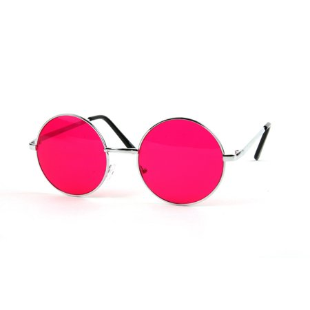 John Lennon 60's Vintage Round Hippie Sunglasses P2012