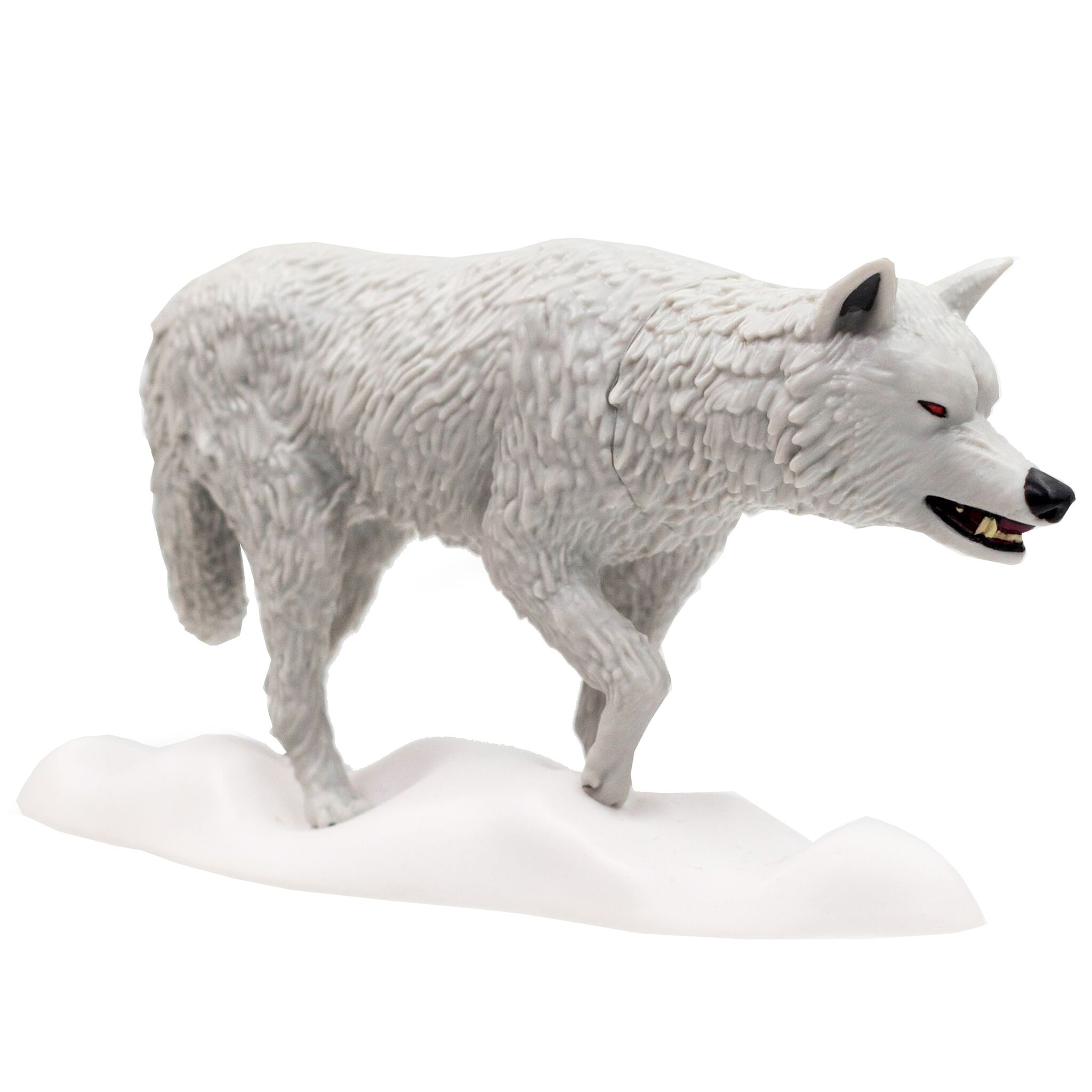 ✅ Game of Thrones The Seven Kingdoms Titans Vinyl Figures White Ghost Dog NEW
