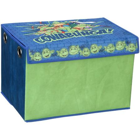 Ninja Turtle Colors (Teenage Mutant Ninja Turtles Fabric Toy Box by Delta)