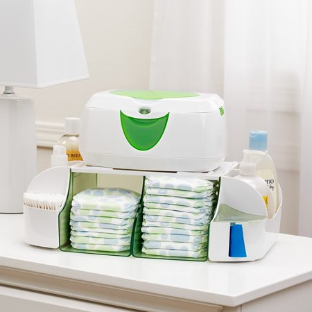 Diaper Duty Organizer, Colors May Vary, A tabletop diaper station organizer that holds diapers, wipes, ointments, bags and more By Munchkin ()